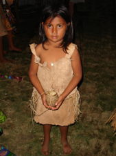 Maleku Indigenous girl